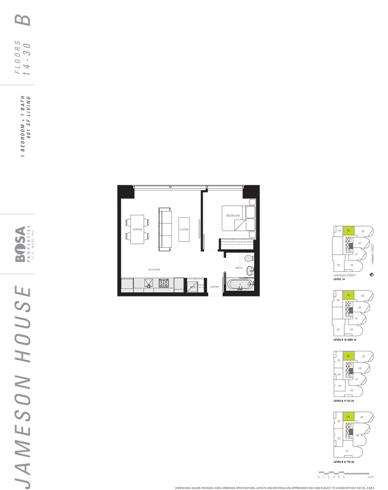 Different Architectural Styles Exterior House Designs: 838 W Hastings Street #1405